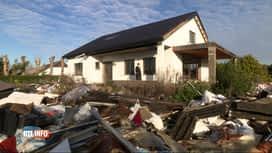 RTL INFO 13H : Des tonnes de déchets déversées dans un jardin de Leeuw-Saint-Pierre