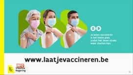 RTL INFO 19H : Lancement d'un compteur recensant les patients vaccinés en Flandre