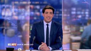 RTL INFO 13H : RTL INFO 13 heures (14/01/21)