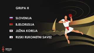 Svjetsko prvenstvo u rukometu 2021. - GRUPA H