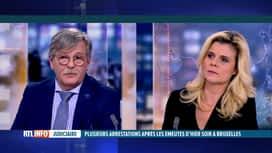 RTL INFO 19H : Le commissaire Jean-Marie Hottat évoque le rôle difficile des...