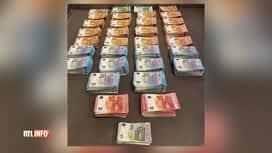 RTL INFO 19H : Saisie d'1,8 million d'euros en petites coupures à Molenbeek-St-Jean