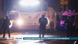 RTL INFO 19H : La manifestation en hommage à Ibrahima a dégénéré en émeute
