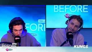 Kungs en interview et en mix dans Le Before
