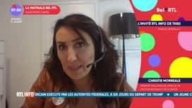 La matinale Bel RTL : Christie Morreale