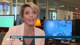 RTL INFO 19H : Neige: on attend de 5 à 10 centimètres de niege demain après-midi