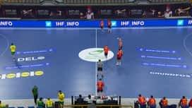 Svjetsko prvenstvo u rukometu 2021. - GRUPA B : ESP - BRA / Španjolska - Brazil - 2. poluvrijeme