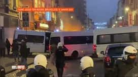 RTL INFO 13H : Utilisation de flash-ball après la manifestation pour Ibrahima à...