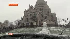 RTL INFO 19H : Chutes de neige en France et en Allemande, ce samedi