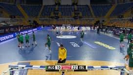 Svjetsko prvenstvo u rukometu 2021. - GRUPA F : ALG - ISL / Alžir - Island - 2. poluvrijeme