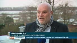 RTL INFO 19H : Réaction de l'UCM au projet d'accorder un congé pour se faire vacciner