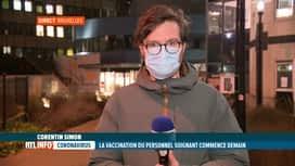 RTL INFO 19H : Nouvelle phase de vaccination et débuts du vaccin Moderna dès demain