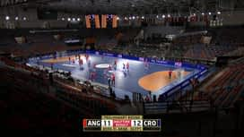 Svjetsko prvenstvo u rukometu 2021. - GRUPA C : ANG - CRO / Angola - Hrvatska - 2. poluvrijeme