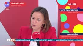 La matinale Bel RTL : Caroline Desir