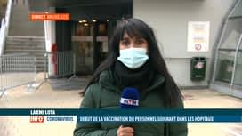 RTL INFO 13H : Coronavirus: le vaccin Moderna sera administré à l'hôpital d'Ixelles