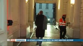 RTL INFO 13H : Coronavirus: réunion du Conseil des ministres restreint sur les var...