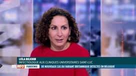 RTL INFO 19H : Coronavirus: Leila Belkhir, infectiologue, fait le point sur le var...