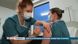 RTL INFO 19H : Coronavirus: le cap des 100.000 vaccinations a été dépassé