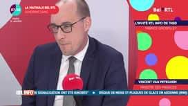 La matinale Bel RTL : Vincent Van Peteghem