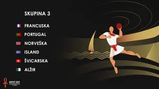 Svjetsko prvenstvo u rukometu 2021. - SKUPINA 3