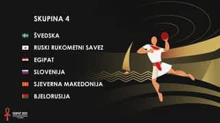 Svjetsko prvenstvo u rukometu 2021. - SKUPINA 4