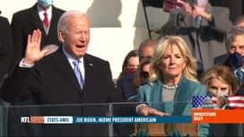 RTL INFO 19H : Joe Biden, le 46e président des Etats-Unis, vient de prêter serment