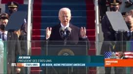 RTL INFO 19H : Le discours du nouveau président Joe Biden était très attendu