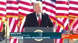 RTL INFO 19H : Donald Trump et son épouse ont quitté la Maison Blanche
