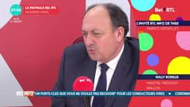 L'invité de 7h50 : Willy Borsus (21/01)