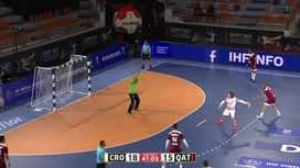 Svjetsko prvenstvo u rukometu 2021. - GRUPA C : CRO - QAT / Hrvatska - Katar - 2. poluvrijeme