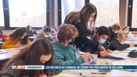 RTL INFO 19H : Coronavirus: les élèves flamands  à la maison une semaine avant le ...
