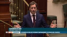 RTL INFO 19H : Coronavirus: la Belgique plaidera pour l'interdiction des voyages d...
