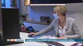 RTL INFO 19H : Coronavirus: annulations en cascade dans les agences de voyages