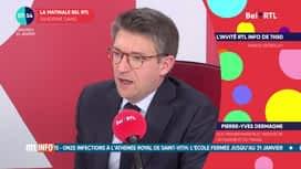 La matinale Bel RTL : Pierre-Yves Dermagne (22/01)