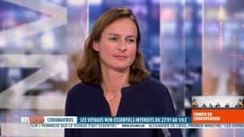 RTL INFO 19H : Interdiction de voyager : l'avis d'Anne-Sophie Snyers