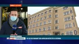 RTL INFO 19H : Coronavirus: 15 cas du variant sud-africain détectés à Ostende
