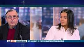RTL INFO 19H : Coronavirus: l'éclairage d'Yves Van Laethem sur les différents vari...