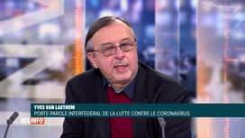 RTL INFO 19H : Coronavirus: l'avis d'Yves Van Laethem sur la colchicine