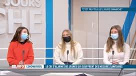 RTL INFO 19H : Coronavirus: des jeunes expriment leur mal-être face aux ministres
