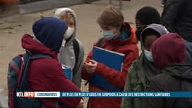 RTL INFO 19H : Coronavirus: confinement, certains jeunes grignotent et grossissent