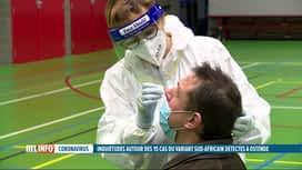 RTL INFO 19H : Coronavirus: tests préventifs organisés à Ostende pour le variant s...