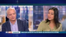RTL INFO 19H : Coronavirus: Yves Coppieters, épidémiologiste, est l'invité du RTLI...
