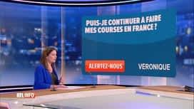 RTL INFO 19H : Coronavirus: peut-on aller faire ses courses à l'étranger?