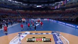 Svjetsko prvenstvo u rukometu 2021. - SKUPINA 4 : SLO - EGY / Slovenija - Egipat - 2. poluvrijeme