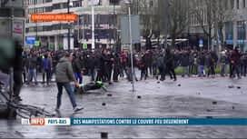 RTL INFO 13H : Coronavirus: incidents aux Pays-Bas lors de manifs anti-couvre-feu