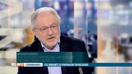 RTL INFO 19H : Coronavirus: explications du Professeur Clumeck à propos des variants