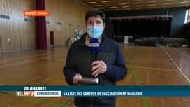 RTL INFO 13H : Coronavirus: le centre culturel de Chimay sera un centre de vaccina...