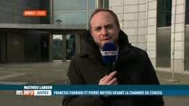 RTL INFO 13H : Affaire Nethys: François Fornieri et Pierre Meyers en Chambre du co...