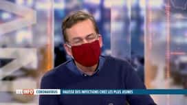 RTL INFO 19H : Coronavirus: le Dr Van Der Linden revient sur les contaminations ch...