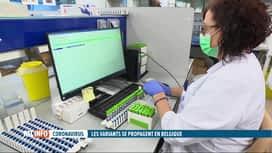 RTL INFO 19H : Coronavirus: les variants sont-ils répandus en masse chez nous ?